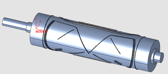 KN95口罩机刀齿一体滚轴编程详解
