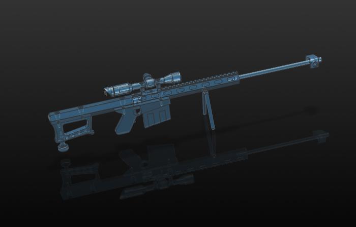 UG NX《狙击步枪》整体装配(2)——(36附视频)