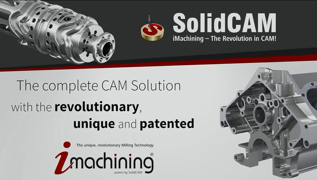 SolidCAM & iMachining Advertising Video