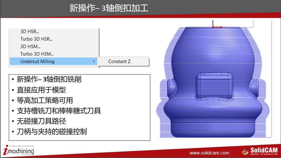 SolidCAM2020  新增功能