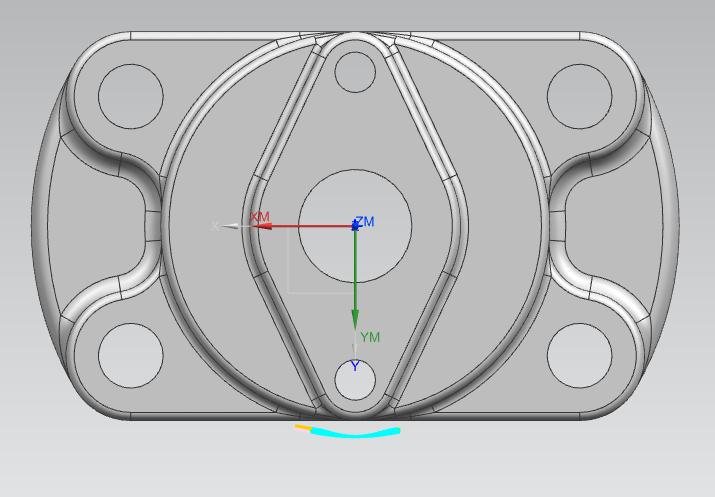 NX编程教程 案例四(4) 曲面区域轮廓铣(24 附视频 )