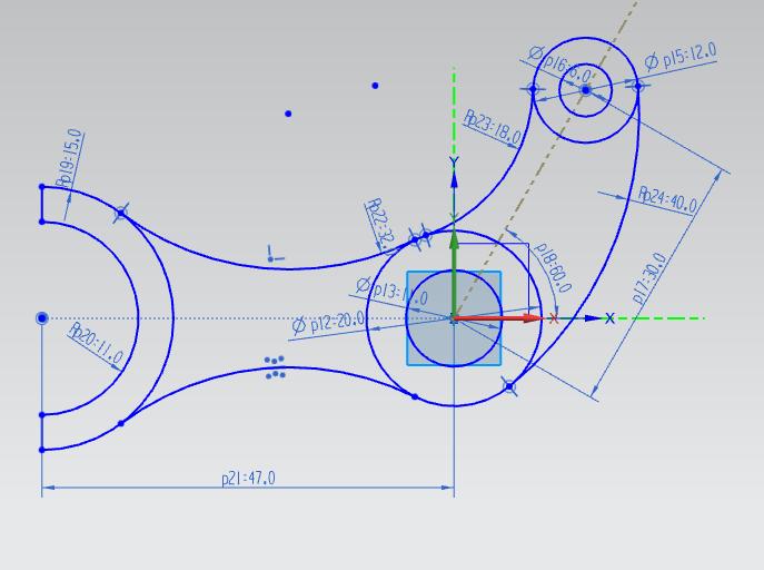 UG NX建模 —— 草图绘制 拉伸 (54 附视频 )