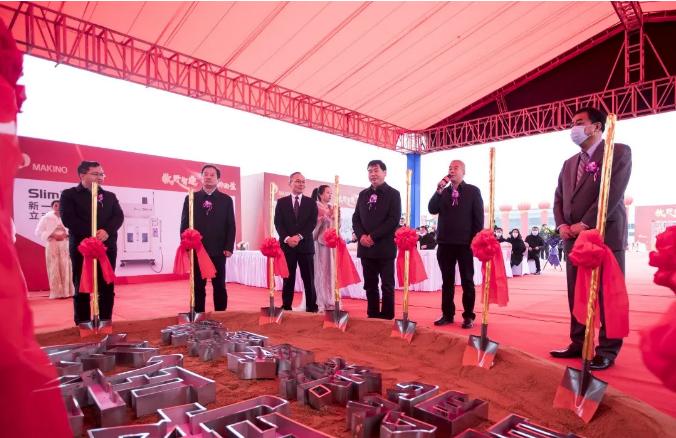 智能制造再发力!牧野汽车装备(武汉)智能研发制造基地在蔡甸开工