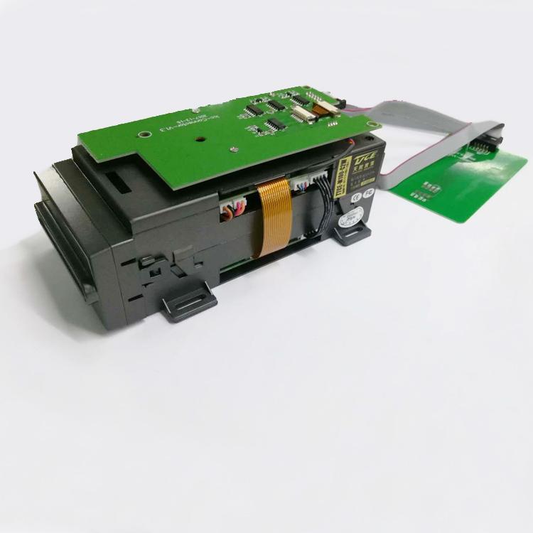 双保护门功能IC磁卡自动吞吐式发卡机M100-C2W输入电压检测